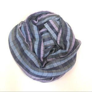 cejon pastel Stripe infinity scarf